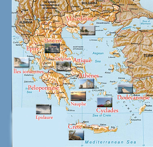 Photos de Grèce