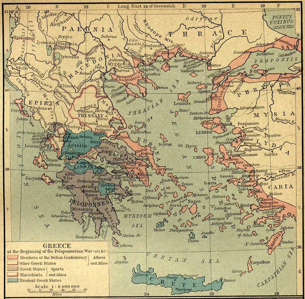 grecia guerra: