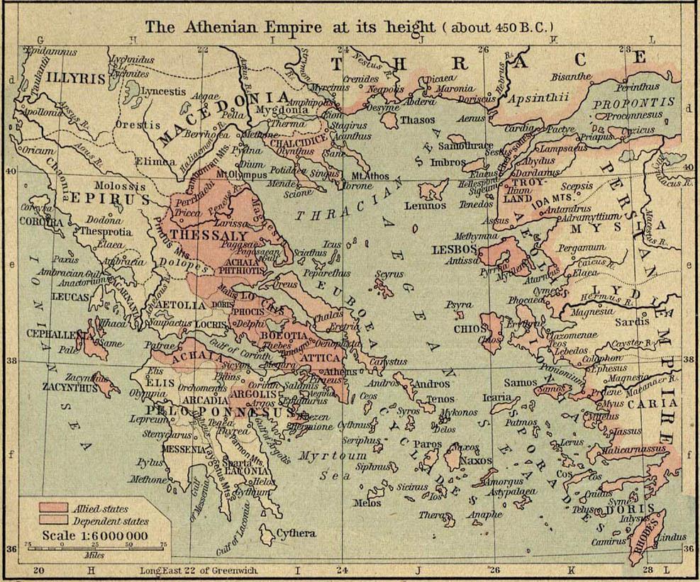Cartina Della Grecia Antica In Italiano.Cartine Della Grecia Antica