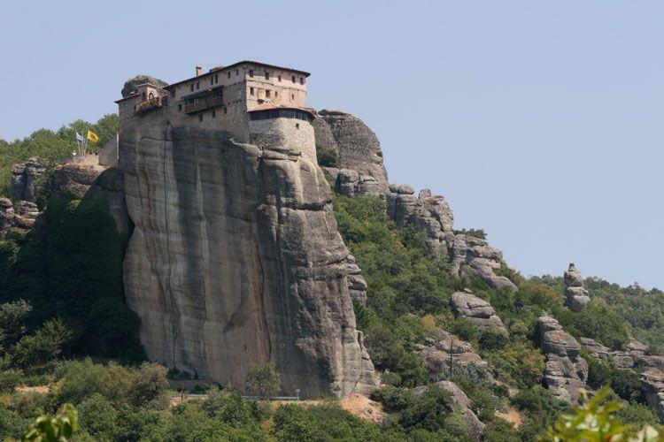 monastère en Grèce