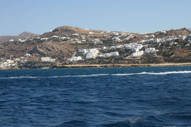 Mykonos photos for Piscine seynod ile bleue