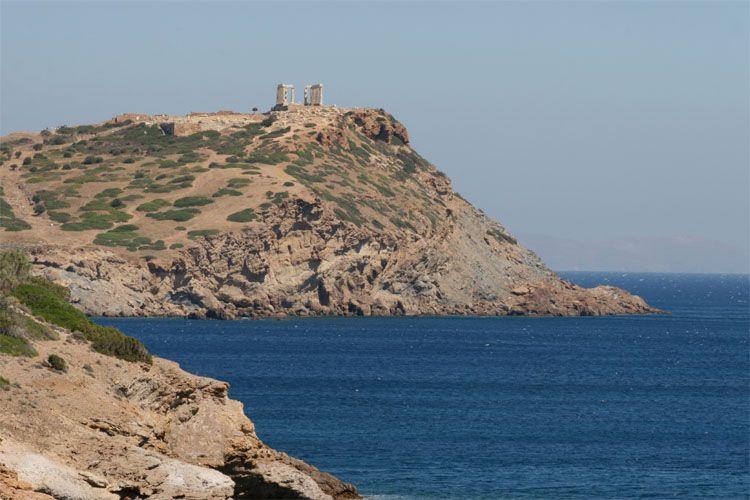 Cap Sounion In Greece